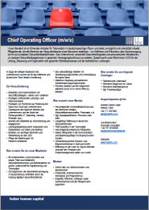 Chief Operating Officer hhc